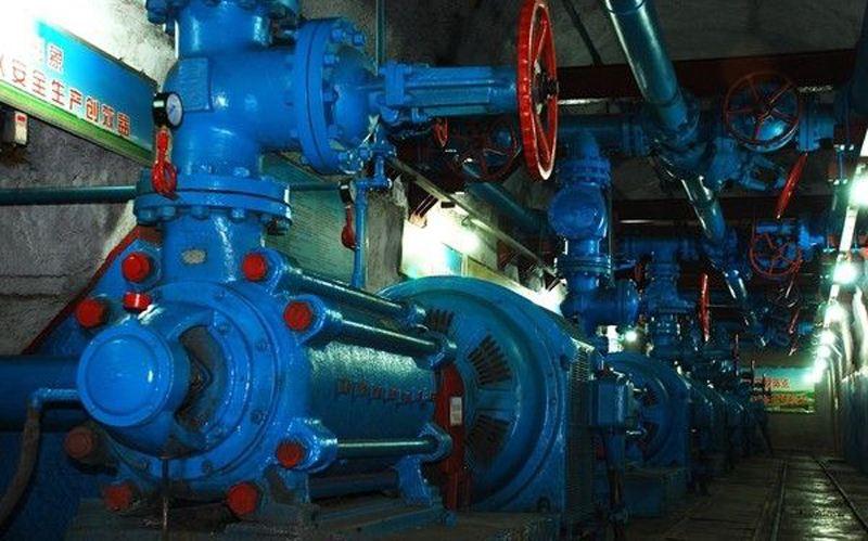 矿山主排水泵站