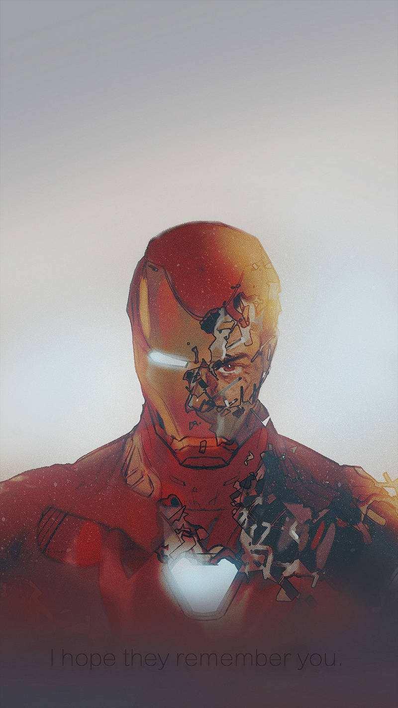 复仇者联盟史塔克钢铁侠壁纸