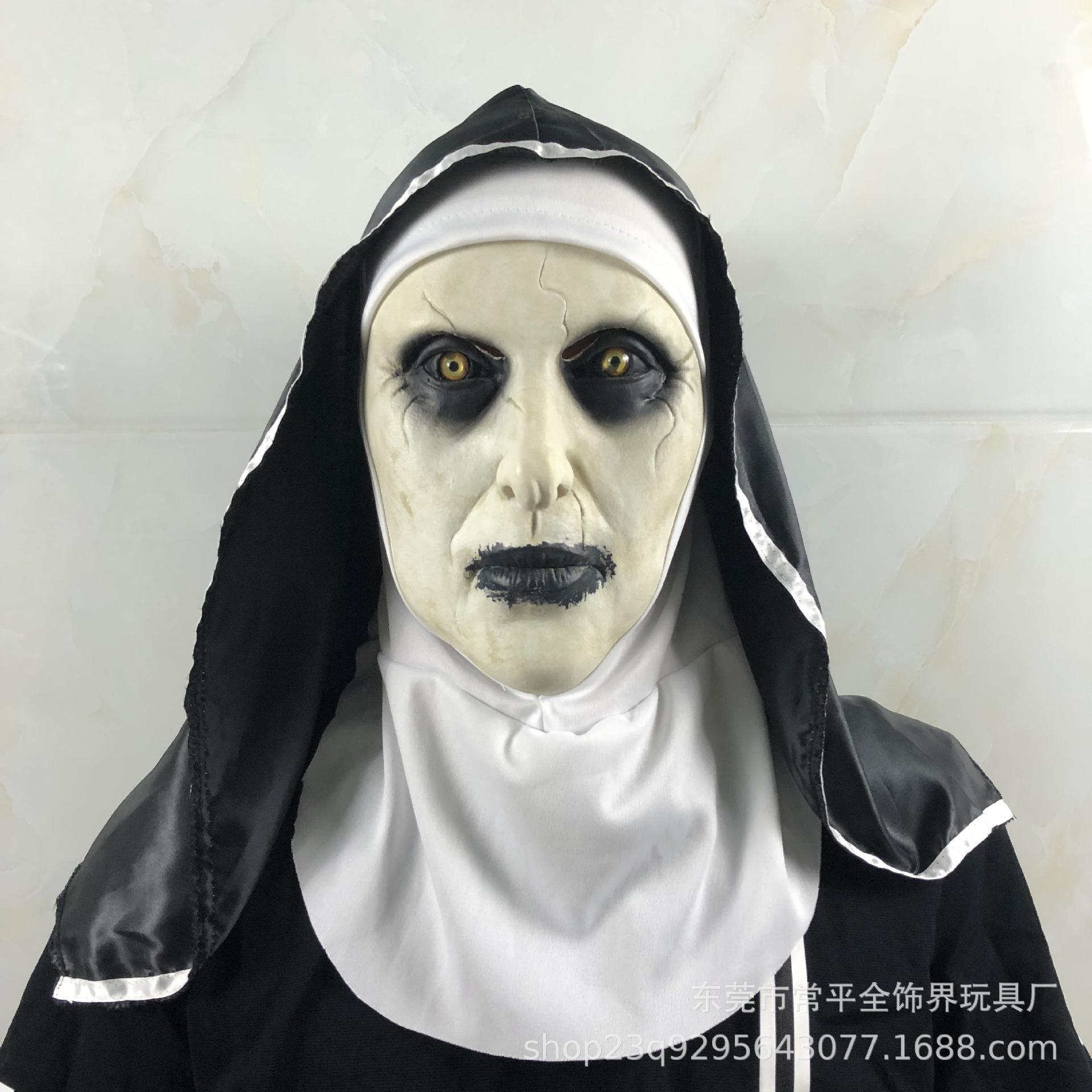 the conjuring 2 horror nun mask horror scary man