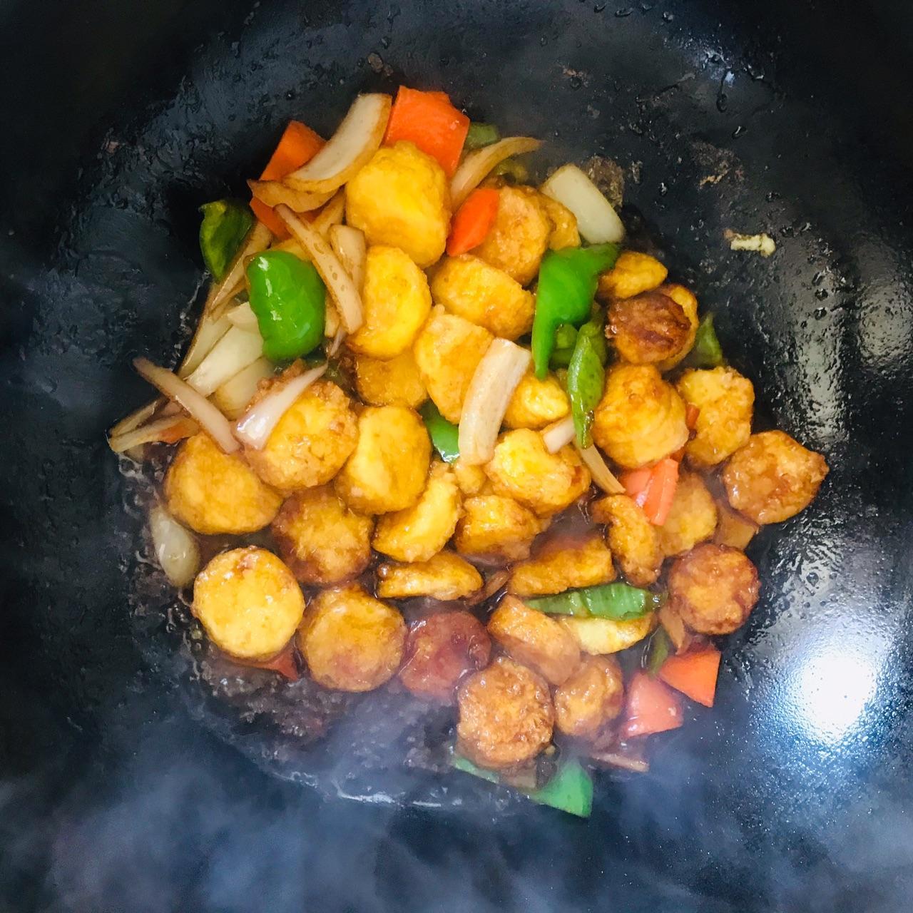 日本豆腐的家常做法_金针菇日本豆腐的做法  第2张