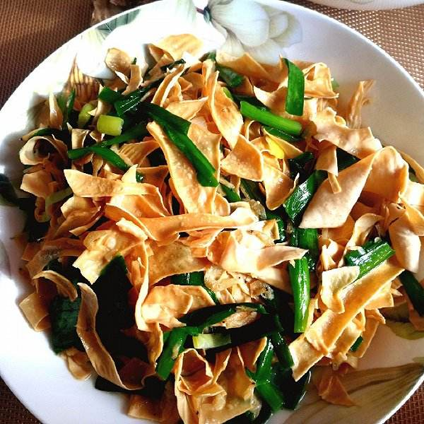 豆腐皮的做法_调豆腐皮怎么调才好吃  第1张