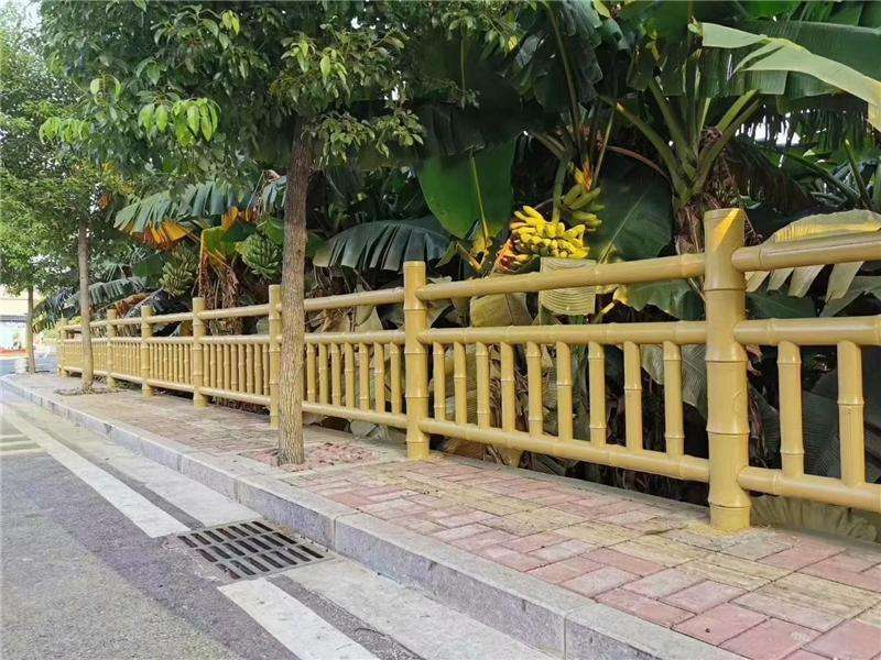 仿竹护栏是如何制作的(图1)