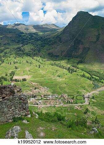 神圣的山谷, 在中, incas, 在中, 秘鲁