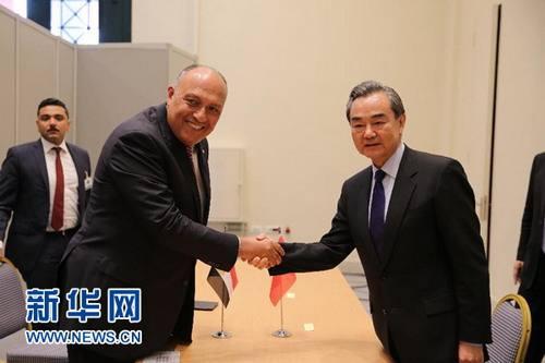 china y egipto aumentarán cooperación en franja