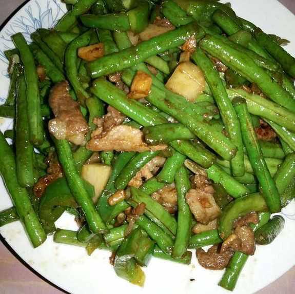 豇豆炒肉的做法大全_肉炒江豆角的做法大全集  第2张