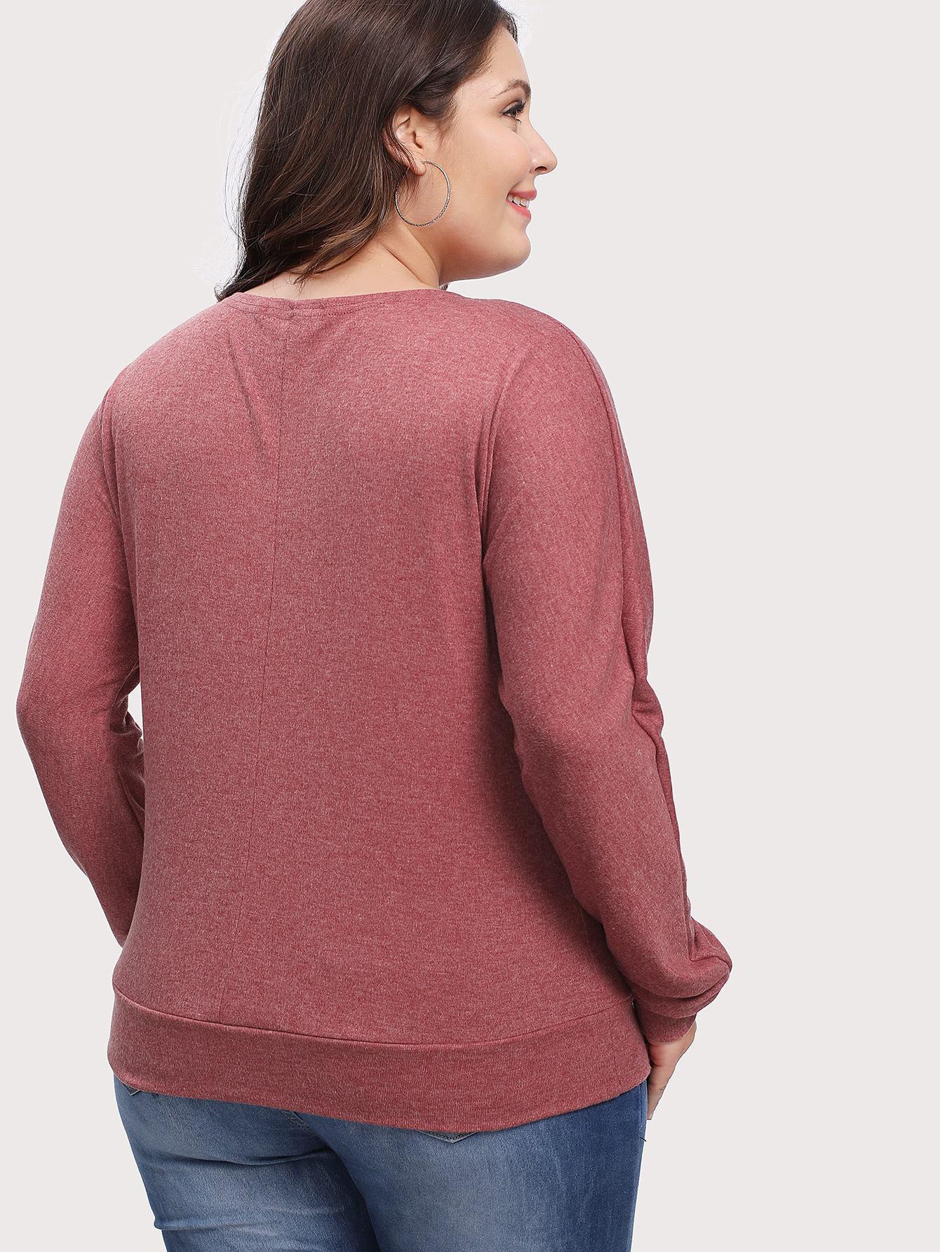camiseta de punto con botones - shein espa09a