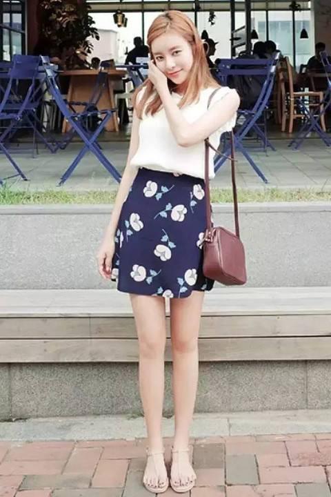 160女生穿衣搭配 160左右的怎么穿衣服显腿长