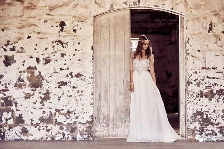 anna campbell 释出2018年度「eternal heart 永恒之心」婚纱系列广告