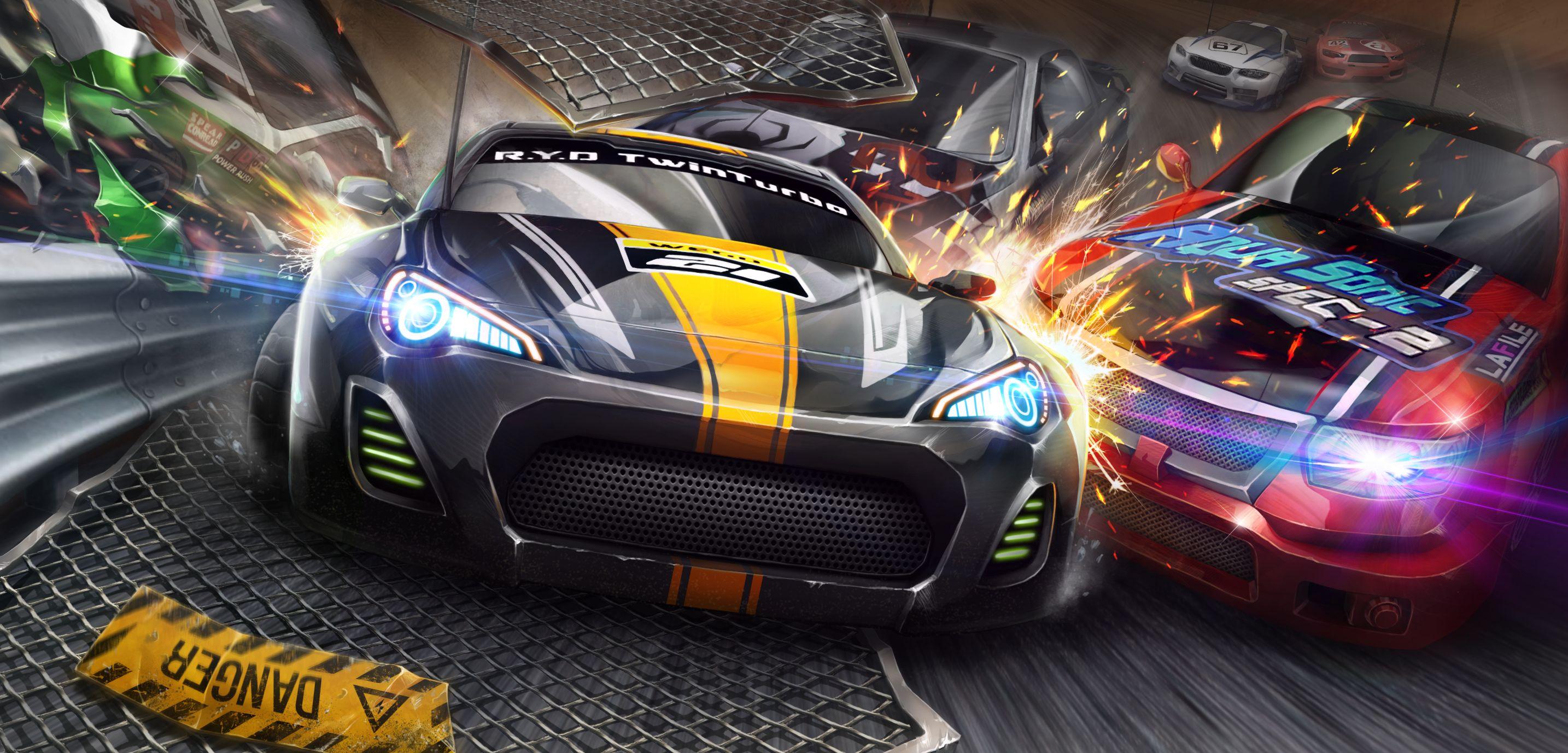赛车类小游戏的简单介绍  第2张