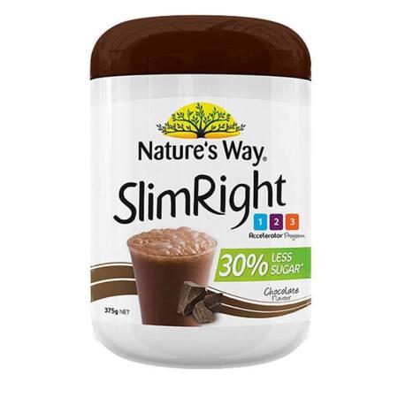 way巧克力营养粉375克*2瓶 这款nature's way slimright 巧克力