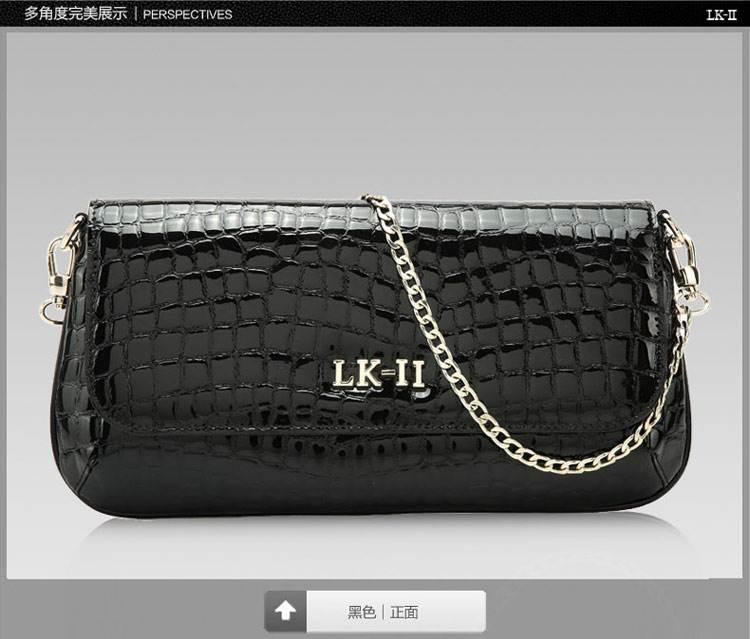 【货到付款】lkii香港品牌手拿包 2014荧光女钱包