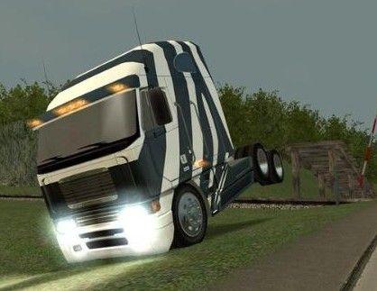 十八轮大卡车_十八轮卡车模拟驾驶  第2张