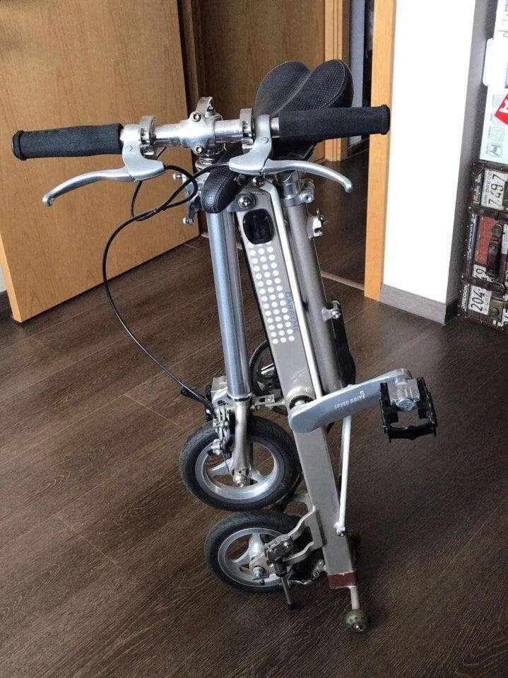 carry me折叠自行车 双速 带原厂拉杆箱