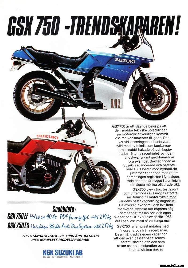 1985年suzuki gsx 750es