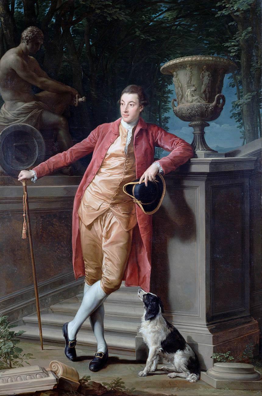Лукка - 1787 Рим) - ПортретДжона, перво