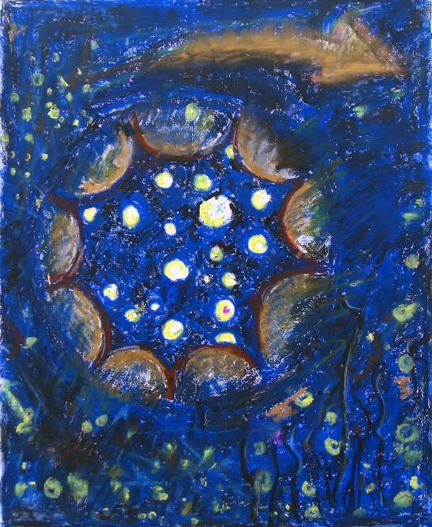 夜空 由 varicolore 创作 - leewiart 乐艺 建立你的