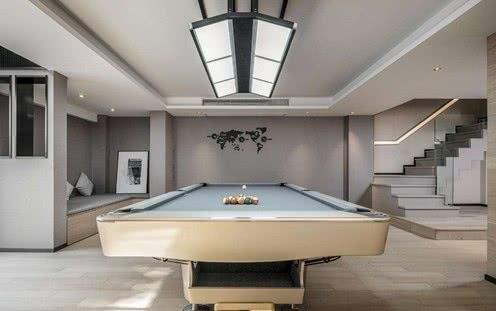 地下室桌球房