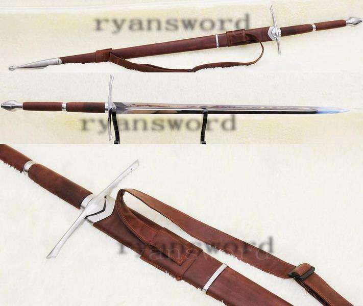 real sharp strong functional handmade wallace sword the sword of