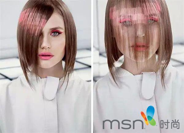 美容 西班牙马德里x-presion创意发廊的色彩三位专家首创了这种染发